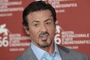 Sylvester Stallone had Bell's palsy