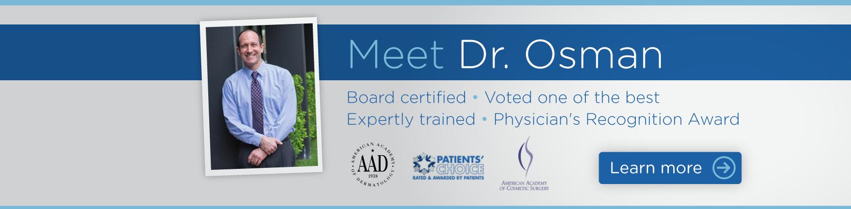 Meet Dr. Osman - Dermatologist in Calabasas and Northridge