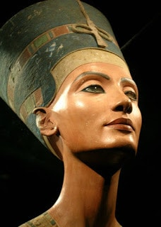 Nefertiti's jawline